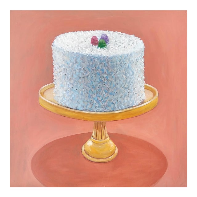 Paula McCarty Coconut Cake Print For Sale