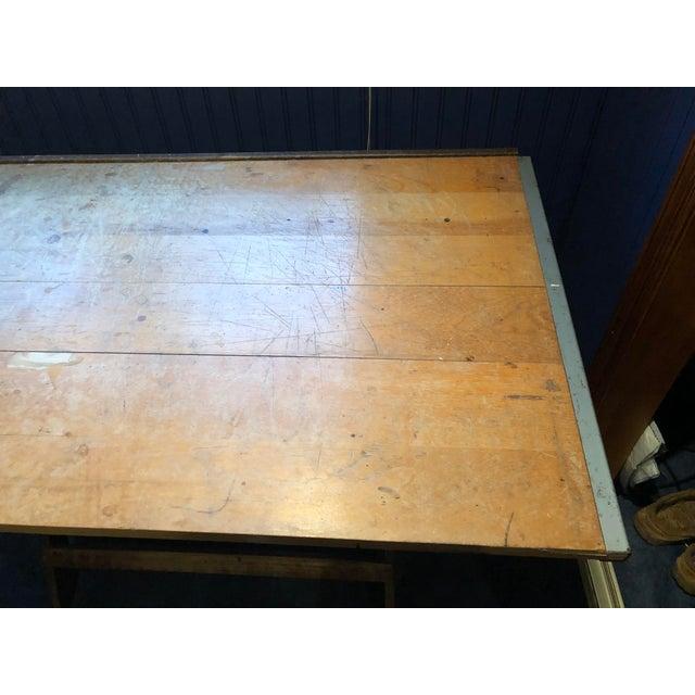 Vintage Anco Bilt Adjustable Drafting Table For Sale - Image 5 of 6