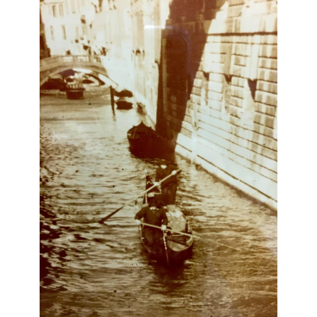 Photography Vintage Sepia Photograph of Venice For Sale - Image 7 of 11