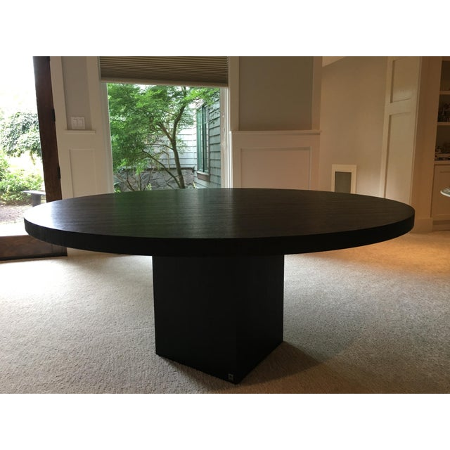 Armani Casa Black Round Dining Table - Image 2 of 11