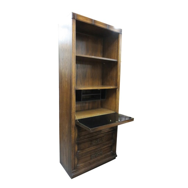 Drop Front Desk With Additional Storage - Image 2 of 7