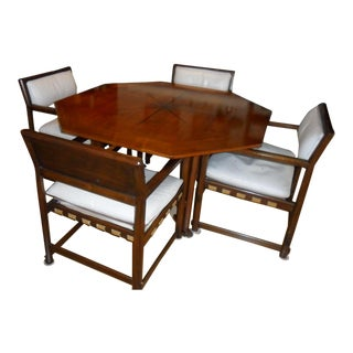 Edward Wormley for Dunbar Game Table & Chairs