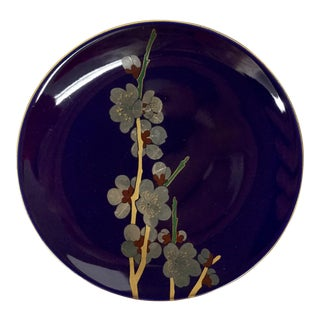 Small Japanese Hand Painted Plate
