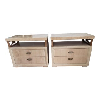 Pair of Henredon End Tables/ Night Stands For Sale