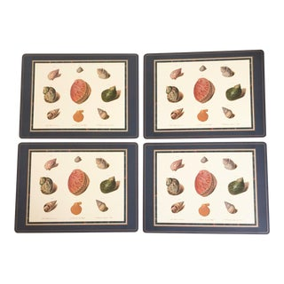 Pimpernel Placemats Nautical Seashells England - Set of 4 For Sale
