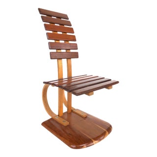 Vintage Studio Craft Architectural Chair For Sale