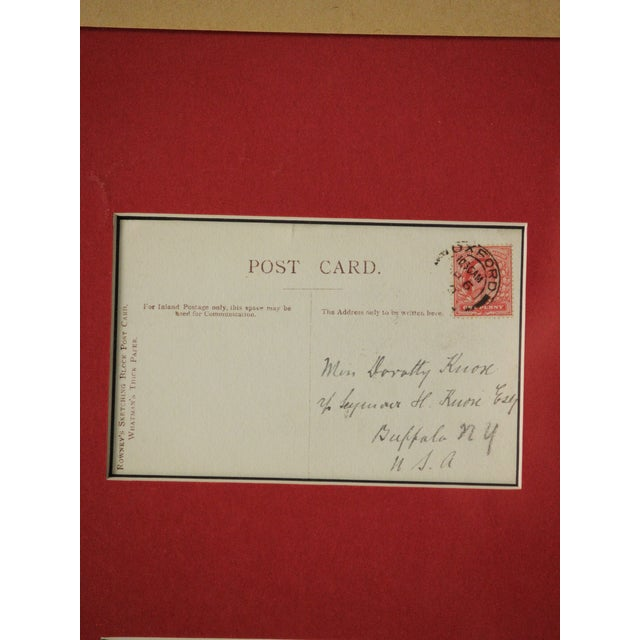 Paper Five Postcard Pen & Ink Drawings, Circa 1910 For Sale - Image 7 of 10