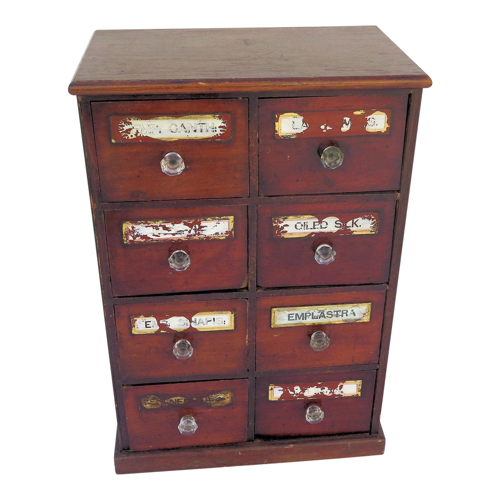 chest metal home overstock apothecary fronts shipping drawers of free drawer product garden today stylecraft