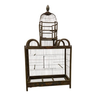 19th Century Victorian Style Architectural Bird Cage For Sale