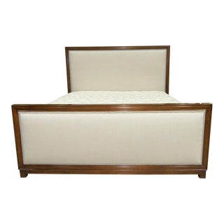 Swaim King Size Upholstered Bed For Sale