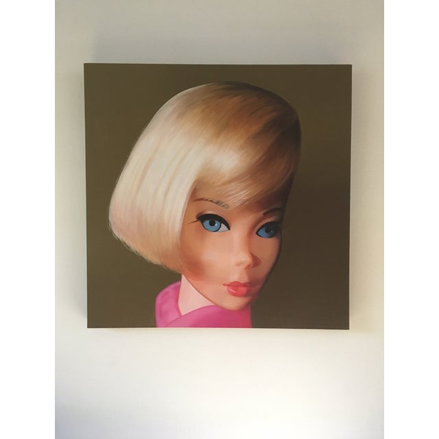 Contemporary Hair Fair Barbie Painting For Sale - Image 3 of 8