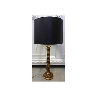 Gilt Wood Tall Table Lamp Preview