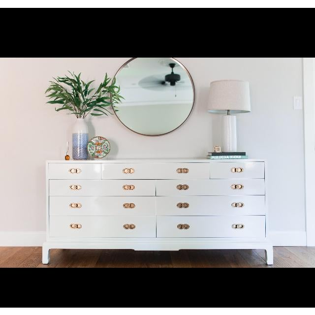 Vintage Michael Taylor for Henredon Ming Base Dresser For Sale - Image 9 of 9