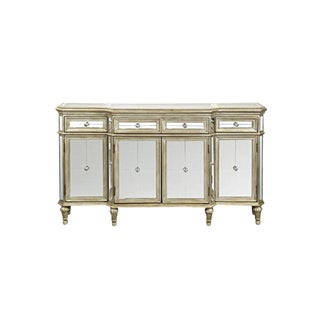 Contemporary Mirrored Cabinet/Sideboard For Sale
