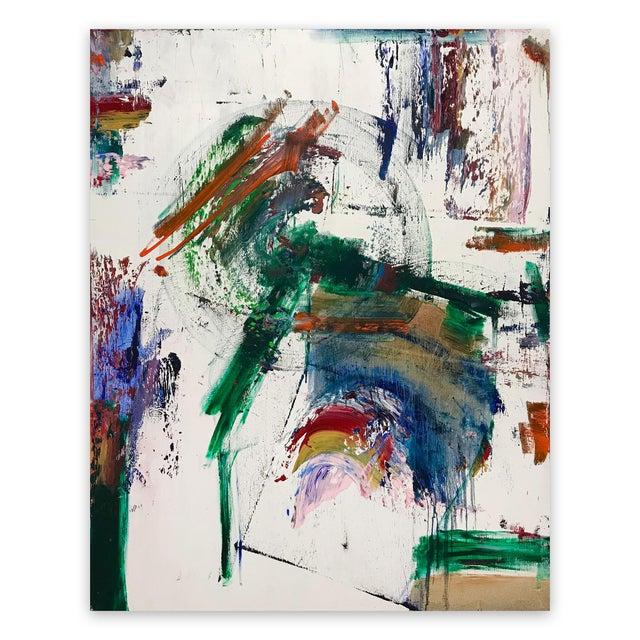 "Tommaso Fattovich ""Primavera a Roma"", Abstract Painting For Sale"