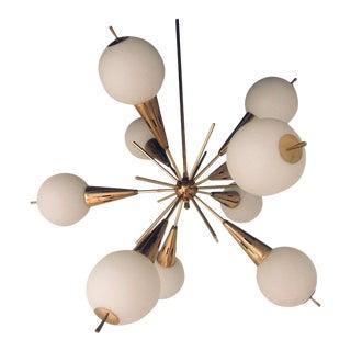 1960s Italian Sputnik Chandelier