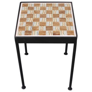 Mid-Century Reversible Game Board