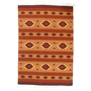 "Pasargad Ny Afghan Baluch Kilim Rug - 4'8"" X 6'8"" For Sale"