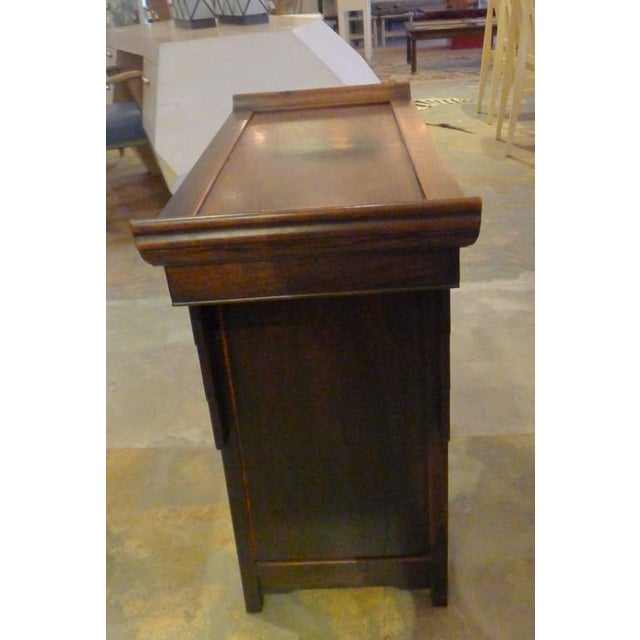 Pair of Wood Chinese Side Cabinets - Image 7 of 9