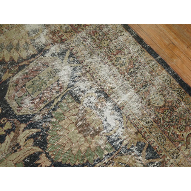 Distressed Persian Sultanabad Rug - 8'7'' x 11'9'' - Image 7 of 10