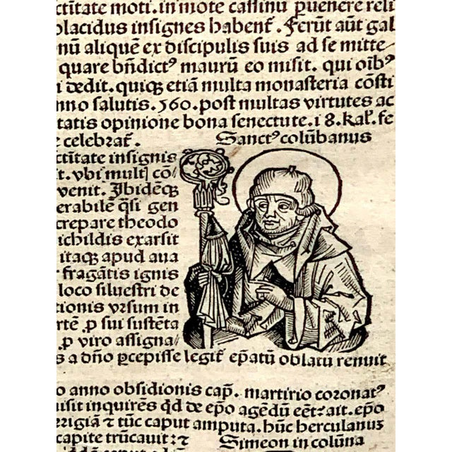 15th Century & Earlier 'World Chronicle', 1st Edition, by Schedel & Wolgemut, Nurnberg, 1493 For Sale - Image 5 of 13