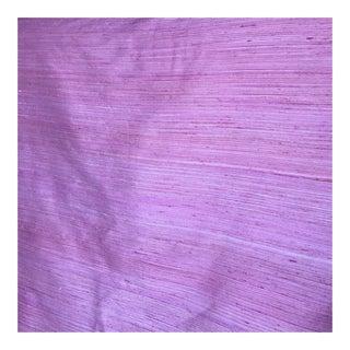 Raw Pink/Coral Silk Fabric