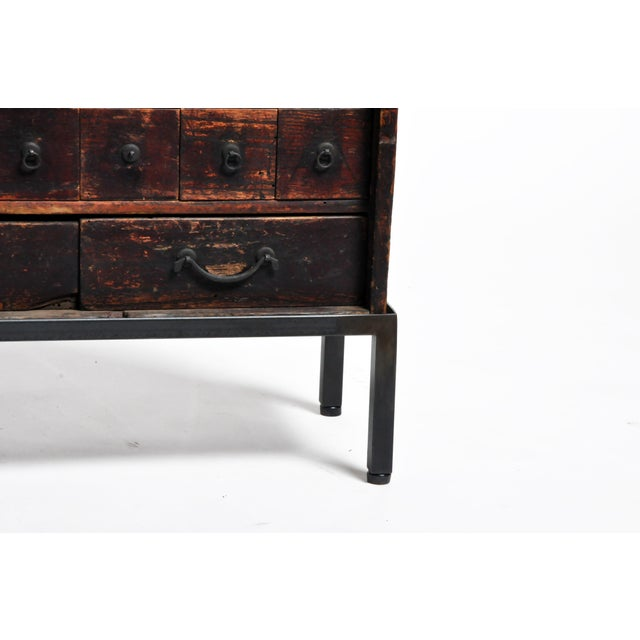 Personal Medicine Chest on Metal Base For Sale - Image 10 of 13