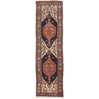 "Antique Persian Malayer Runner - 3'11""x 13'2"""