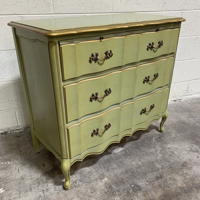 1970s Vintage Permacraft French Provincial Chest For Sale - Image 12 of 13