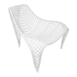 Wing Indoor Chair, White For Sale