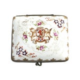 Image of 20th Century Japanese Porcelain Trinket Box For Sale