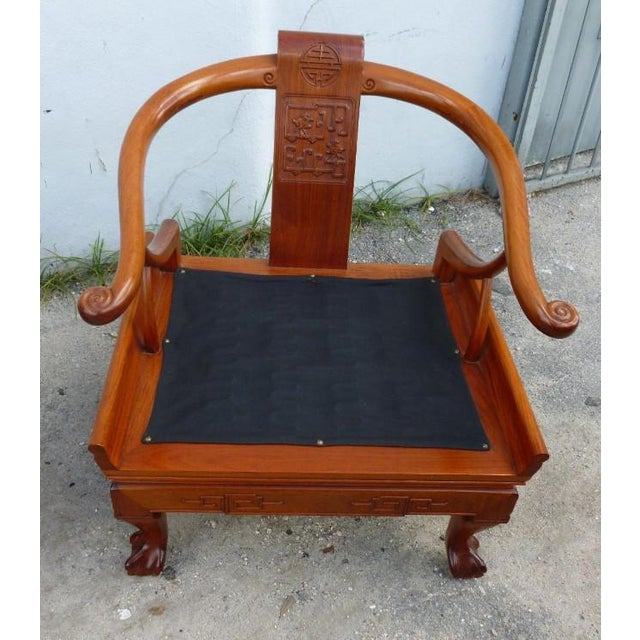 1960s 1960s Ming Arm Chairs - a Pair For Sale - Image 5 of 10