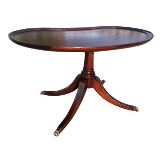 Early 20th Century Mahogany Petite Tea Table by Imperial For Sale