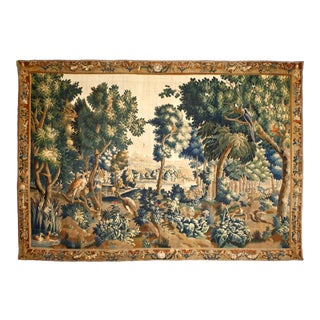 Antique Verdure Tapestry For Sale