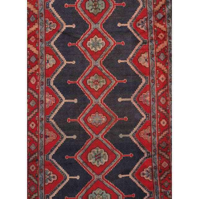"Vintage Hamadan Wool Area Rug - 4'9"" X 8'9"" - Image 2 of 3"