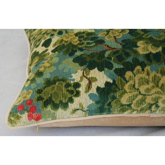Designer Scalamandre Velvet Marly Pillows - Pair - Image 11 of 11