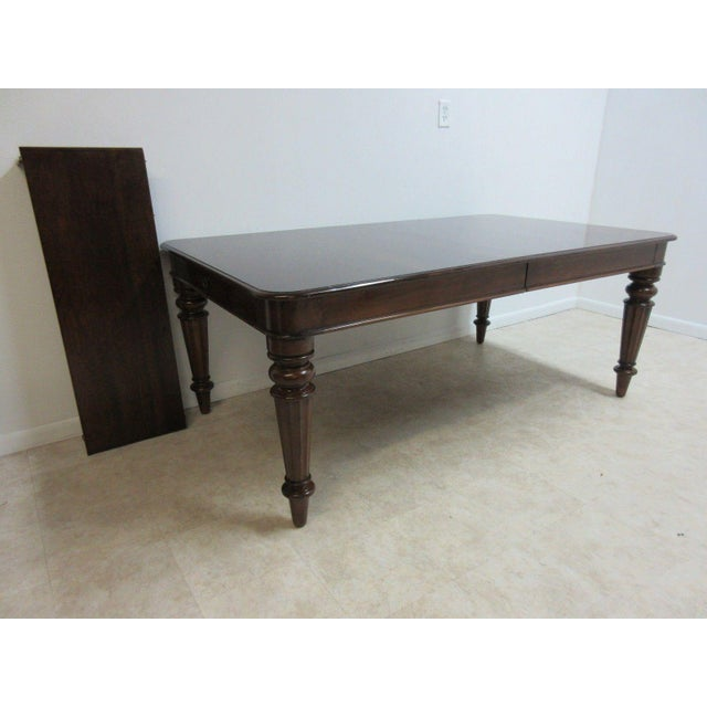 Traditional Pennsylvania House Cortland Manor Cherry Banquet Dining Conference Table For Sale - Image 3 of 11