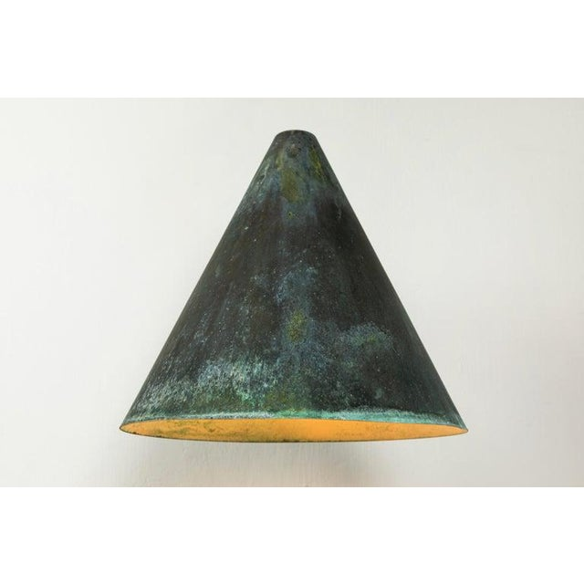 Metal 1950s Hans-Agne Jakobsson 'Tratten' Outdoor Sconces For Sale - Image 7 of 13