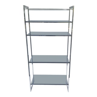 Mid-Century Modern Chrome Etagere For Sale