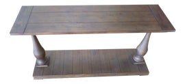 Image of Reclaimed Wood Console Tables