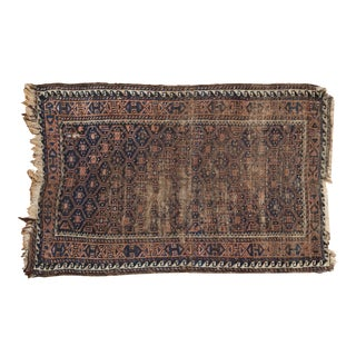 """Antique Belouch Rug - 2'4"""" X 3'9"""" For Sale"""