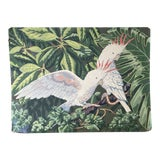 Image of Mid-Century Cockatoo Painting For Sale