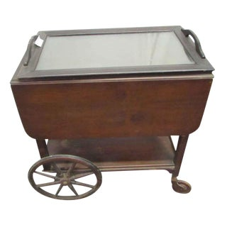 Antique Serving Cart For Sale