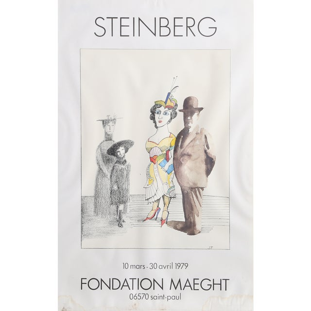 Saul Steinberg Poster - Fondation Maeght For Sale