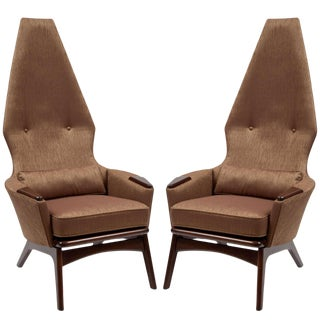 Adrian Pearsall Lounge Chairs- A Pair For Sale