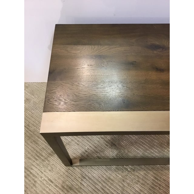 Modern Organic Caracole Artisan End Tables Pair For Sale In Atlanta - Image 6 of 8