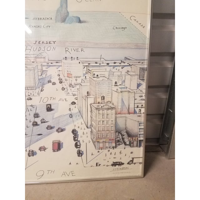 The New Yorker Saul Steinberg Art Print For Sale In Phoenix - Image 6 of 8