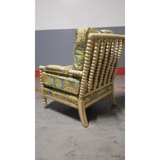 Miles Talbott Bankwood Spindle Shiloh Spool Lounge Chair Preview