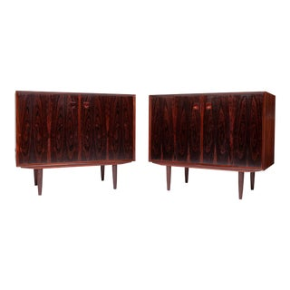 1960s Danish Modern Brouer Mobelfabrik Rosewood Sideboards - a Pair For Sale
