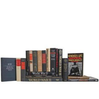 World War II Memorial Book Set, (S/20) For Sale